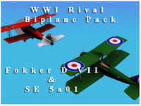 WWI Rival Biplane Pack