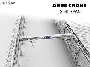 abus crane 3d model