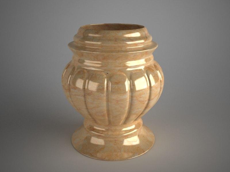 big vase 3d model