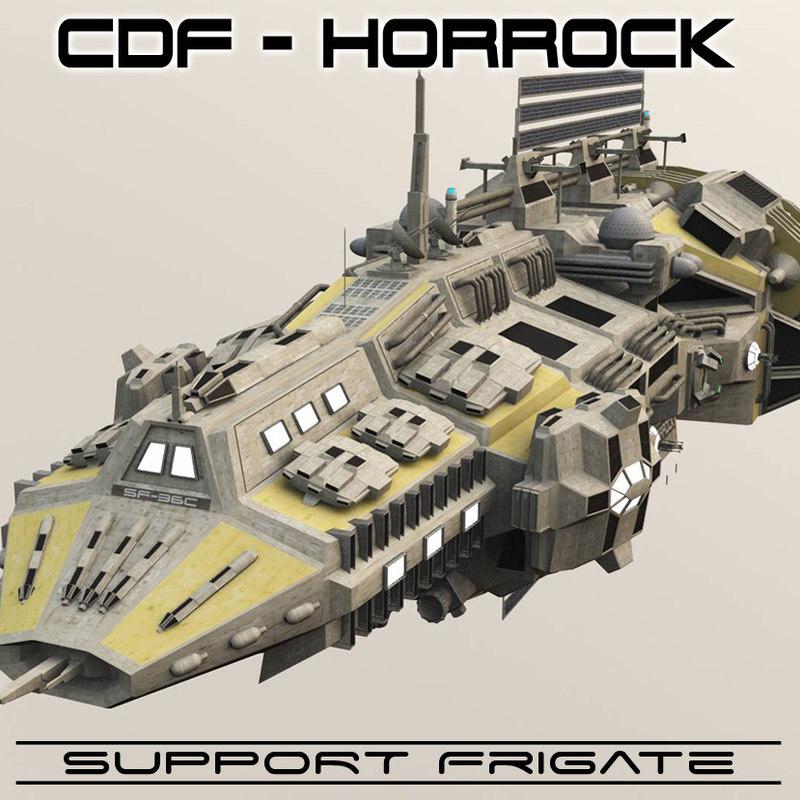 obj support frigates cdf horrock
