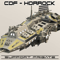 obj support frigates cdf horrock