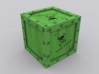 Crate Toxic Waste