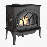 Photoreal Fireplace C