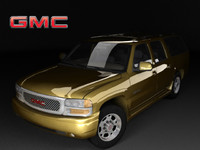 gmc yukon xl denali 3d model