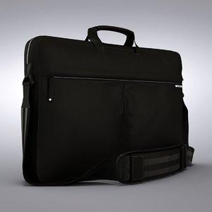 incase 17 nylon sleeve 3d model