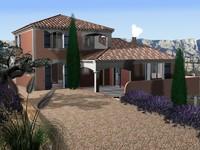 house france olive tree 3d model