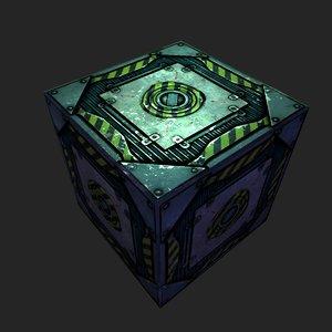 metal box 3d ma