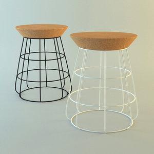3dsmax sidekick stool