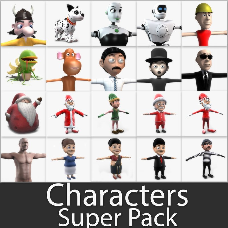 max characters super pack