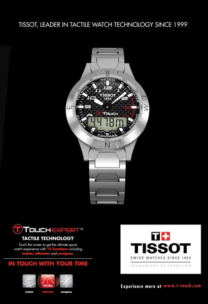 3ds t-touch tissot
