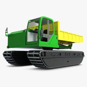 3d traktor komatsu cd 60r model