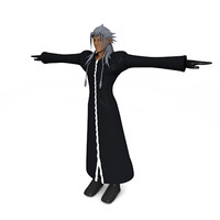 xemnas kingdom hearts 3d c4d