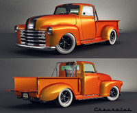 chevy pick 3d max