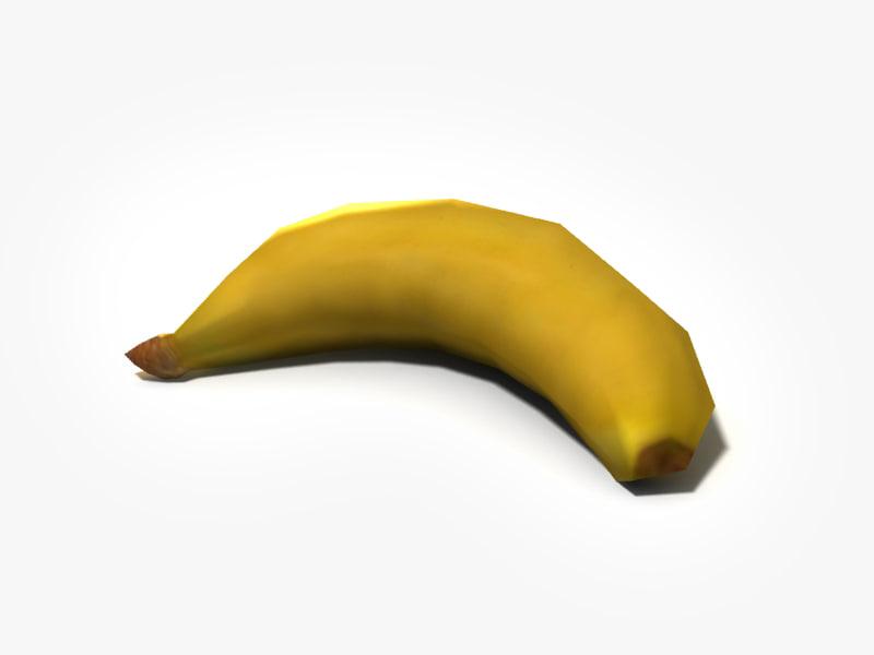 banana obj
