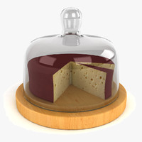 cheese dome 3d model