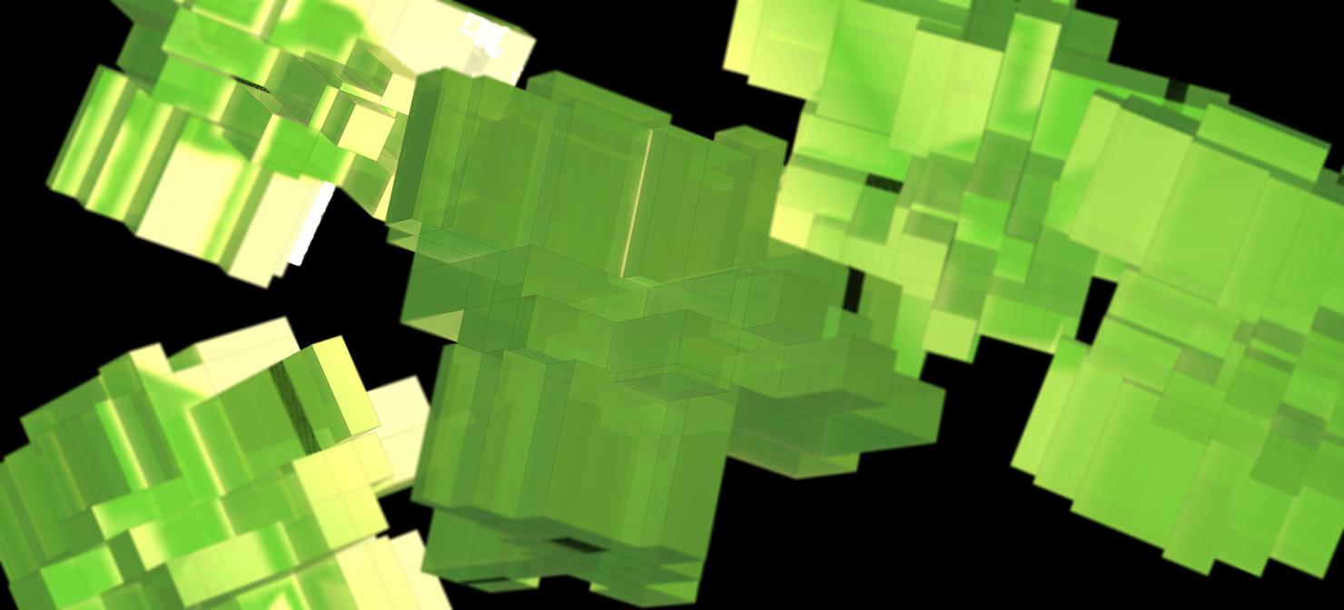 artistic cubes 3d model