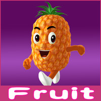 ma cartoon fruits