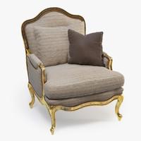 3d marge carson tarlowe chair model