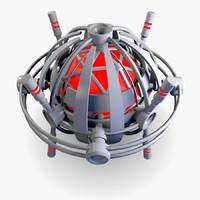 ufo drone obj