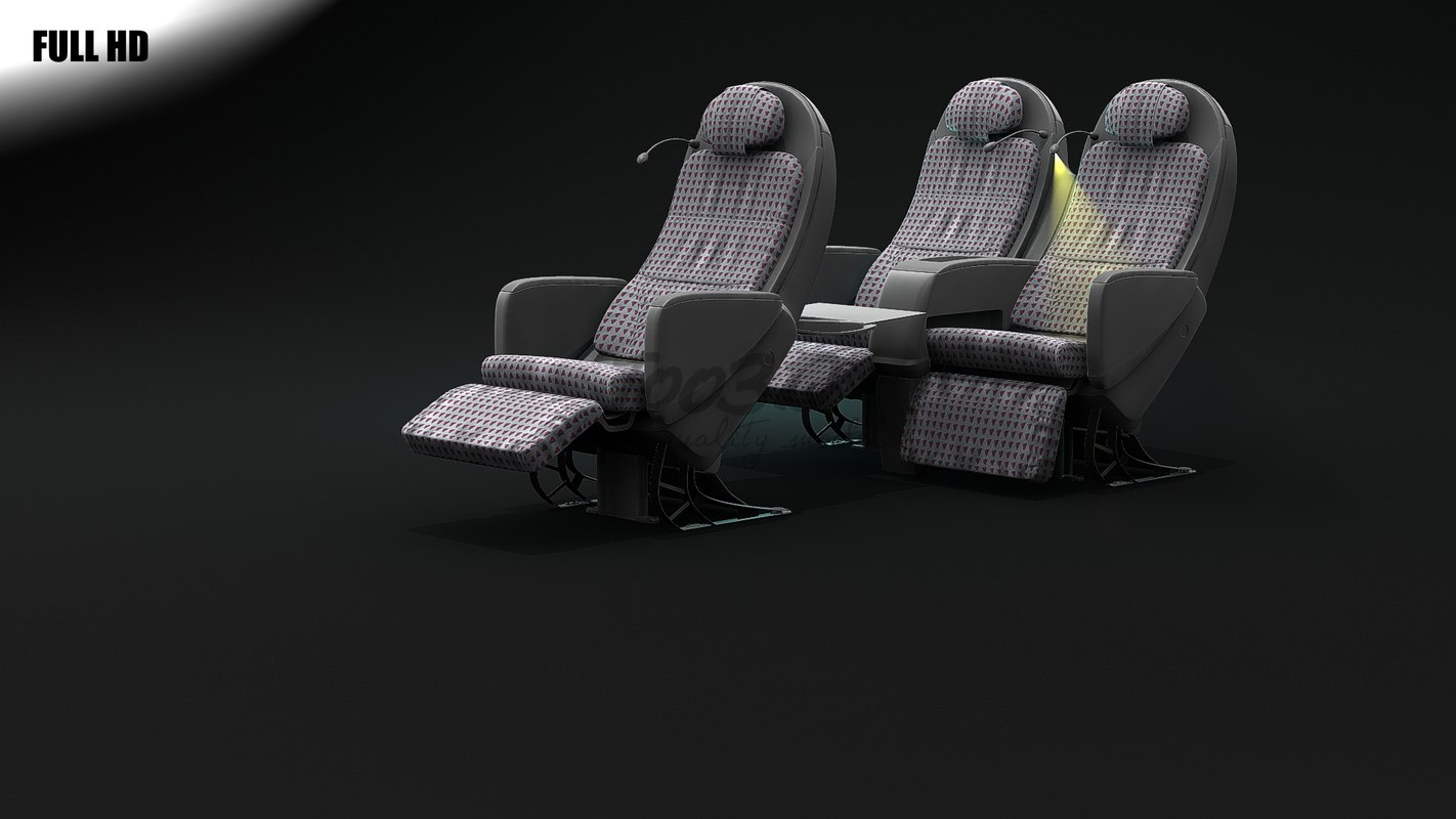 3d seat jal airlines