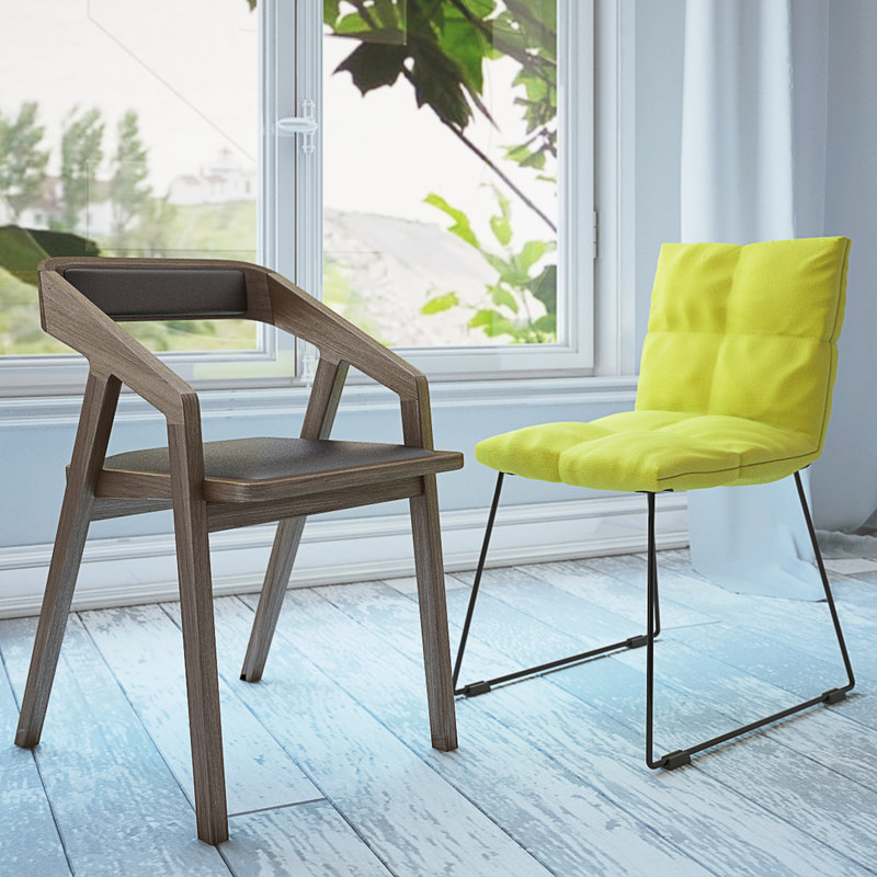zilio lapigra chair 3d max