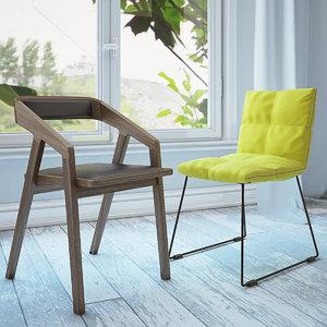 zilio lapigra chair 3d max