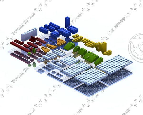 lego constructor 3d model