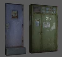 max damaged metal doors