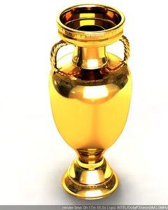 3dsmax golden cup