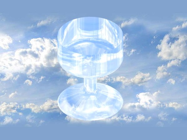3d model stemmed glass