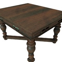 Table Living Antique 01