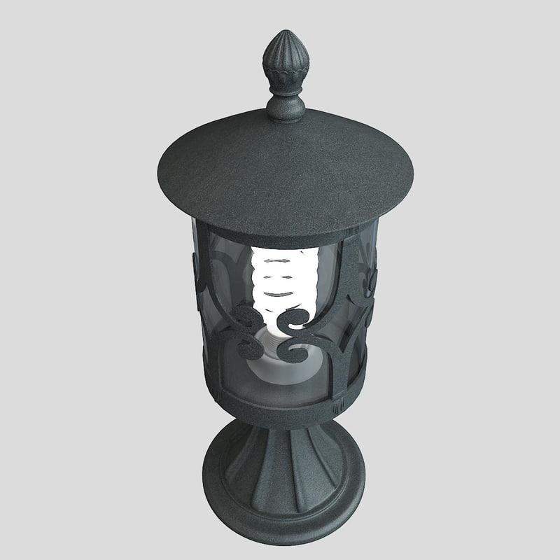 3d model outdoor lighting salama el