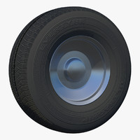 obj wheel suv rim uv
