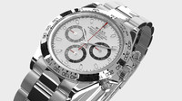 3d model rolex daytona watch