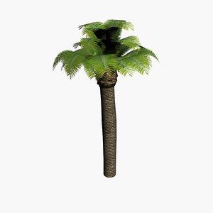 3d max palm tree