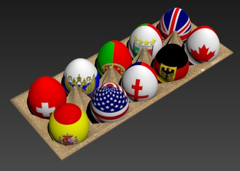max eastern eggs