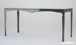 3ds table v-ray