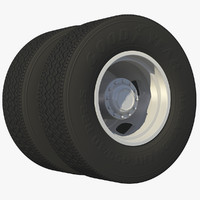 wheel rear truck rims