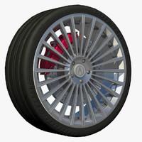 wheel pace 3d model