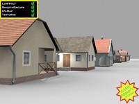 3d ready family house model