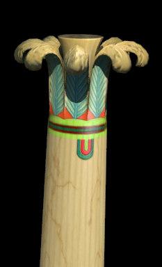 egypt column palm 3d 3ds