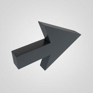 3d model arrow 1