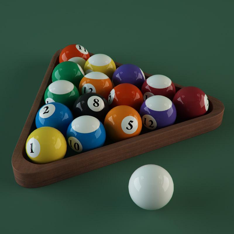 max billiard balls