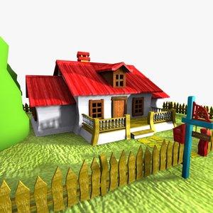 max cartoon house toon