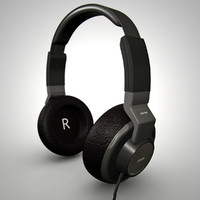3ds max akg headphones