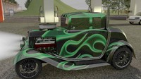 1932 coupe hot rod c4d