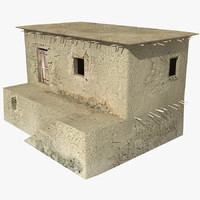 3ds max afghan house 09