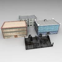 3d model ready buildings