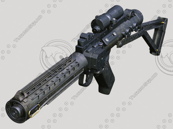 lwo blaster rifle star wars