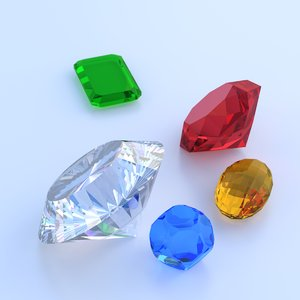 3ds diamond blue topaz